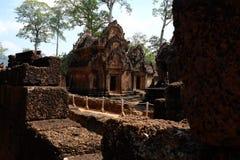 Banteay Srei - Siem συγκεντρώστε - Καμπότζη - αρχαίο Angkor Στοκ Εικόνες
