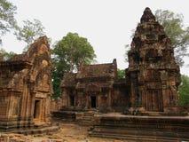 Banteay Srei, Siem Reap. Scenic view of Banteay Srei temple, Siem Reap, Cambodia Royalty Free Stock Image