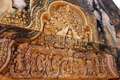 Banteay Srei - Siem Reap - Camboja - Angkor antigo Imagem de Stock Royalty Free
