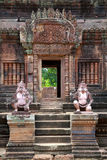 Banteay Srei Stock Photos