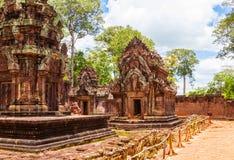 Banteay Srei Temple Royalty Free Stock Image