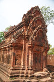 Banteay Srei Temple in the Angkor Area Stock Photography