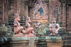 Banteay Srei Temple, Angkor, Cambodia Royalty Free Stock Image