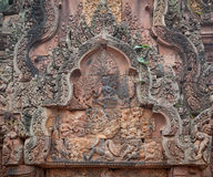 Banteay Srei Temple, Angkor, Cambodia Royalty Free Stock Photos