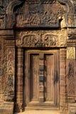Banteay Srei temple- Angkor Wat ruins, Cambodia Royalty Free Stock Images