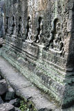 Banteay Srei temple- Angkor Wat ruins, Cambodia Royalty Free Stock Photos