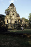 Banteay Srei temple- Angkor Wat ruins, Cambodia Stock Photography