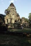 Banteay Srei temple- Angkor Wat ruins, Cambodia Stock Photography