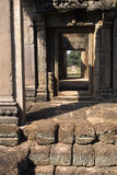 Banteay Srei temple- Angkor Wat ruins, Cambodia Stock Images