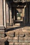Banteay Srei temple- Angkor Wat ruins, Cambodia Stock Images