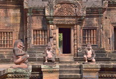 Banteay srei, temple in Angkor Wat Stock Photo