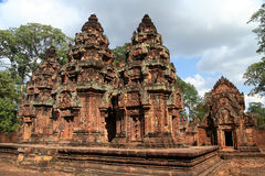 Banteay Srei Temple, Cambodia Royalty Free Stock Photos