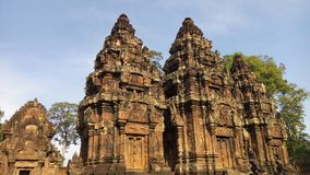 Banteay Srei temple Royalty Free Stock Photography