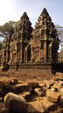 Banteay Srei temple Stock Image