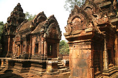Banteay Srei Temple, Cambodia Stock Photography