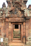 Banteay Srei Temple  Entrance 1 Stock Image