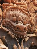 Banteay Srei temple near Angkor Wat, Cambodia. Stock Image