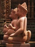 Banteay Srei temple near Angkor Wat, Cambodia. Royalty Free Stock Photography