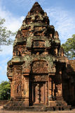 Banteay Srei temple North Library Stock Photography