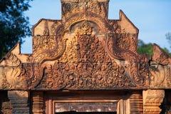 Banteay srei Temple. Siem reap, Cambodia Stock Photo