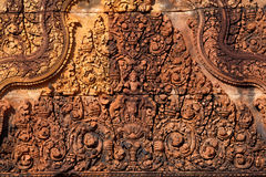 Banteay srei Temple. Siem reap, Cambodia Royalty Free Stock Images