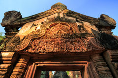 Banteay srei Temple. Siem reap, Cambodia Stock Images