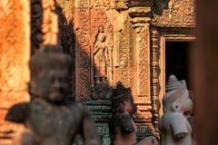 Banteay srei Temple. Siem reap, Cambodia Royalty Free Stock Photos