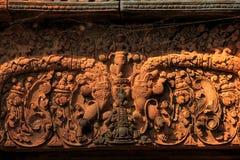 Banteay srei Temple. Siem reap, Cambodia Stock Photos