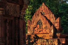 Banteay srei Temple. Siem reap, Cambodia Royalty Free Stock Image