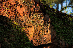 Banteay srei Temple. Siem reap, Cambodia Stock Image