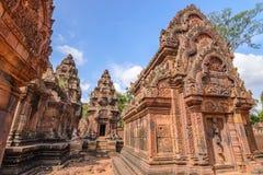 Banteay Srei Temple, Siem Reap Stock Photo