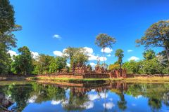 Banteay Srei Temple - Siem Reap - Cambodia. Banteay Srei or Lady Temple at Siem Reap Cambodia Stock Photos