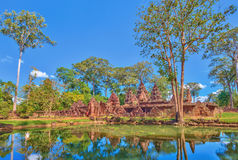 Banteay Srei Temple - Siem Reap - Cambodia Stock Images