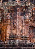 Banteay Srei temple Stock Photos