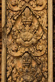 Banteay Srei Temple Stone Carved Royalty Free Stock Photos