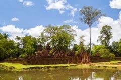 Banteay Srei Temple Stock Photos