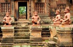 Banteay Srei Wat Stock Photos