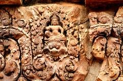 Banteay Srei Wat Royalty Free Stock Photo