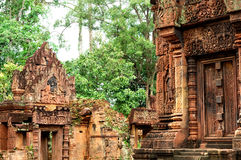 Banteay Srei Wat Royalty Free Stock Image