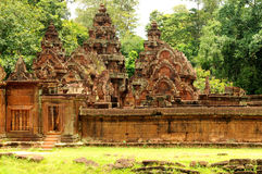 Banteay Srei Wat Royalty Free Stock Photo
