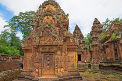 Banteay Srei Wat Royalty Free Stock Images