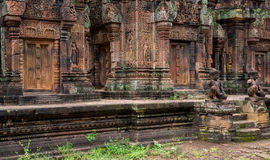 Banteay Srei Wat Royalty Free Stock Photography