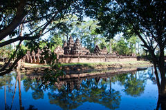 Banteay Srei2 Stock Photography