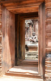 Banteay srey. Ankor wat style temple built in the second half of the 12th century in cambodia siem reap ankorian period royalty free stock photo