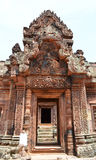 Banteay srey Royalty Free Stock Images