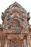 Banteay srey. Ankor wat style temple built in the second half of the 12th century in cambodia siem reap ankorian period stock images