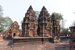 Banteay Srey 免版税库存图片