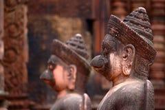 Banteay Srey, Angkor, Cambodge image libre de droits