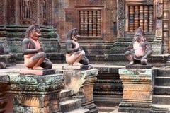 Banteay Srey, Angkor, Cambodia Stock Photos