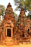 Banteay Srey, Angkor, Cambodia Royalty Free Stock Photography